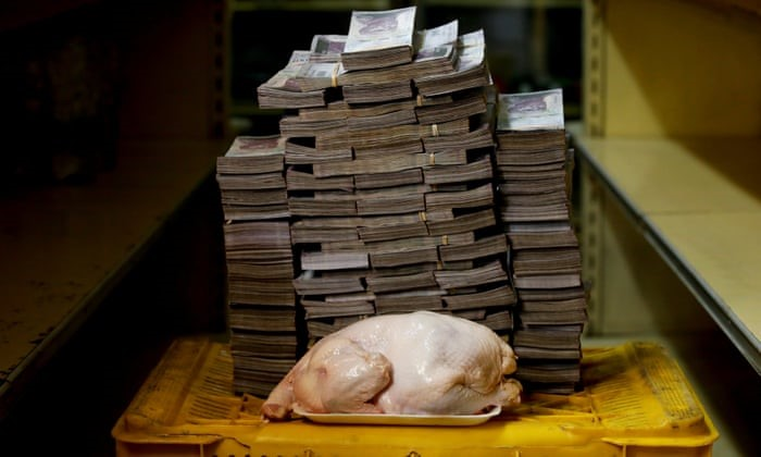 VENEZUELAN HYPERINFLATION    Venezuelan inflation is expected to be at 1,000,000% by the end of this year and this article will look into the causes and consequences as well as possible solutions to fix their crisis. Venezuela has the largest oil reserves in the world, therefore…   By Ronit Gandhi