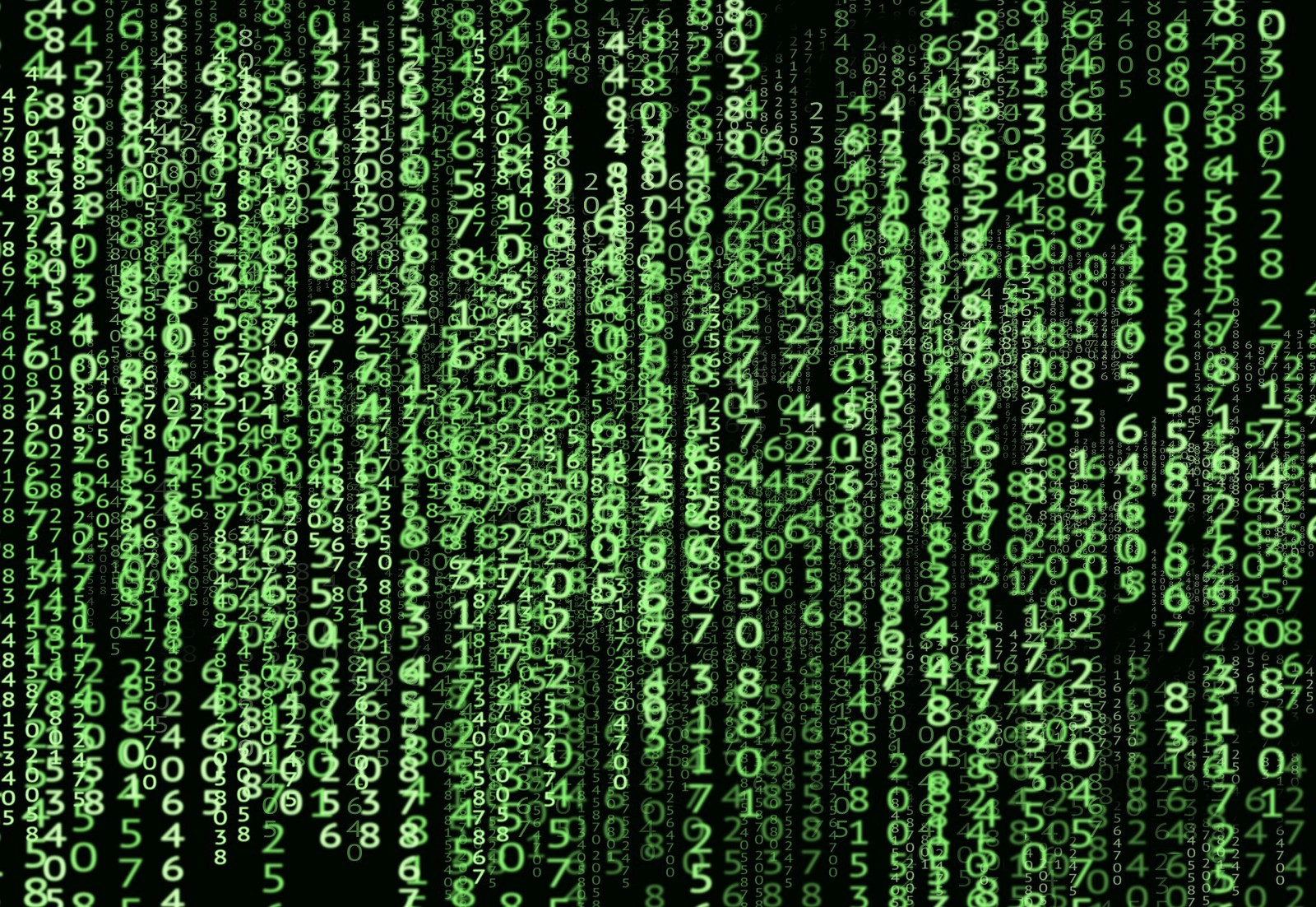 Cool Matrix code