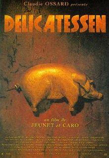 DÉLICATESSEN    Réalisateurs: Marc Caro, Jean-Pierre Jeunet  Film français en couleur  Sorti en avril 1991…   Par Hannah Shewan