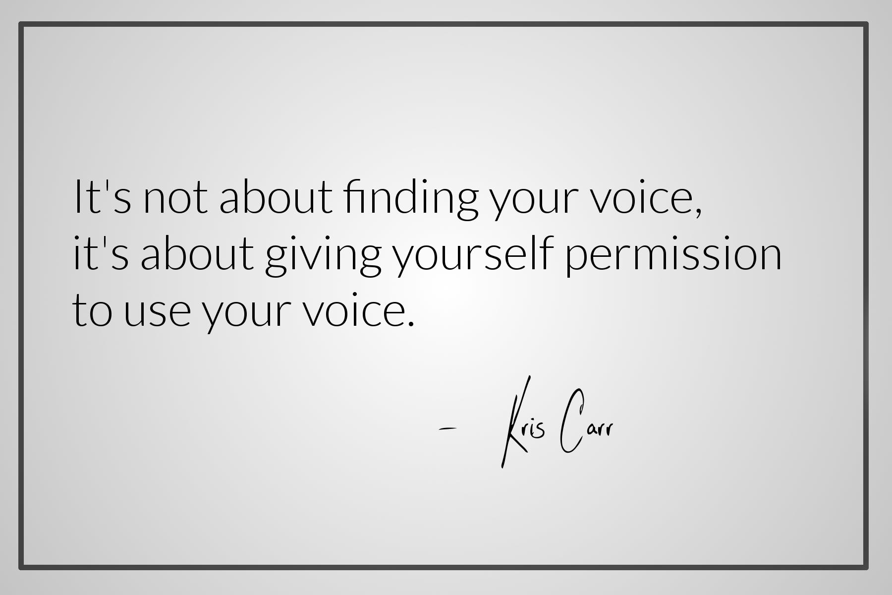 Kris Carr quote.JPG