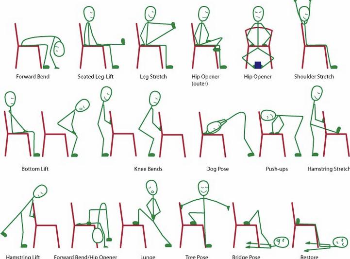Carl Dawson's Chair Yoga Sequence