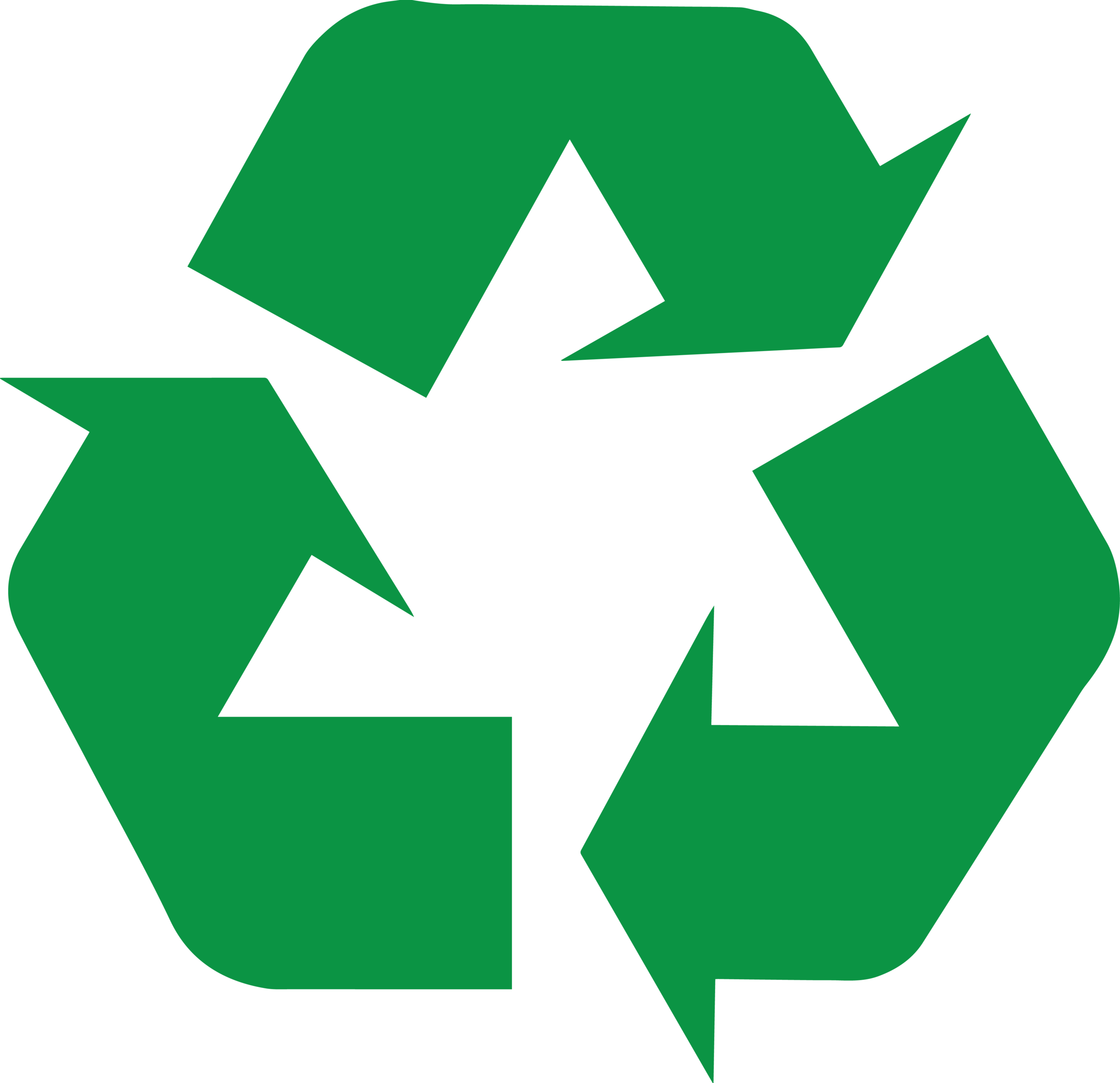Proudly Recycled
