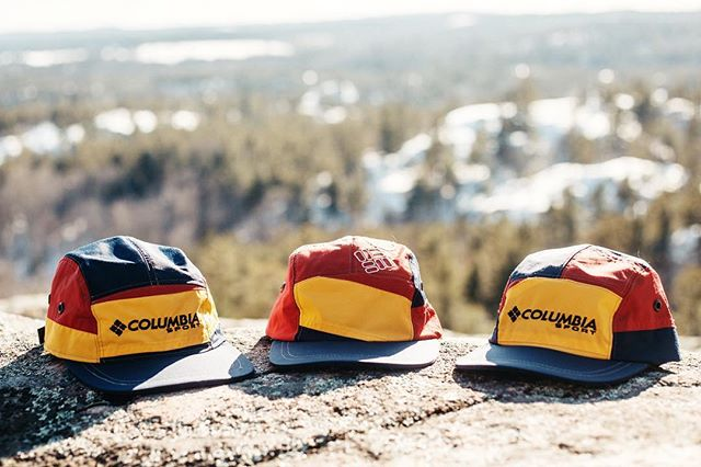 x1 Columbia 5-Panel left!! Get it before it's gone (it's the one in the middle.) —  keefcompany.com