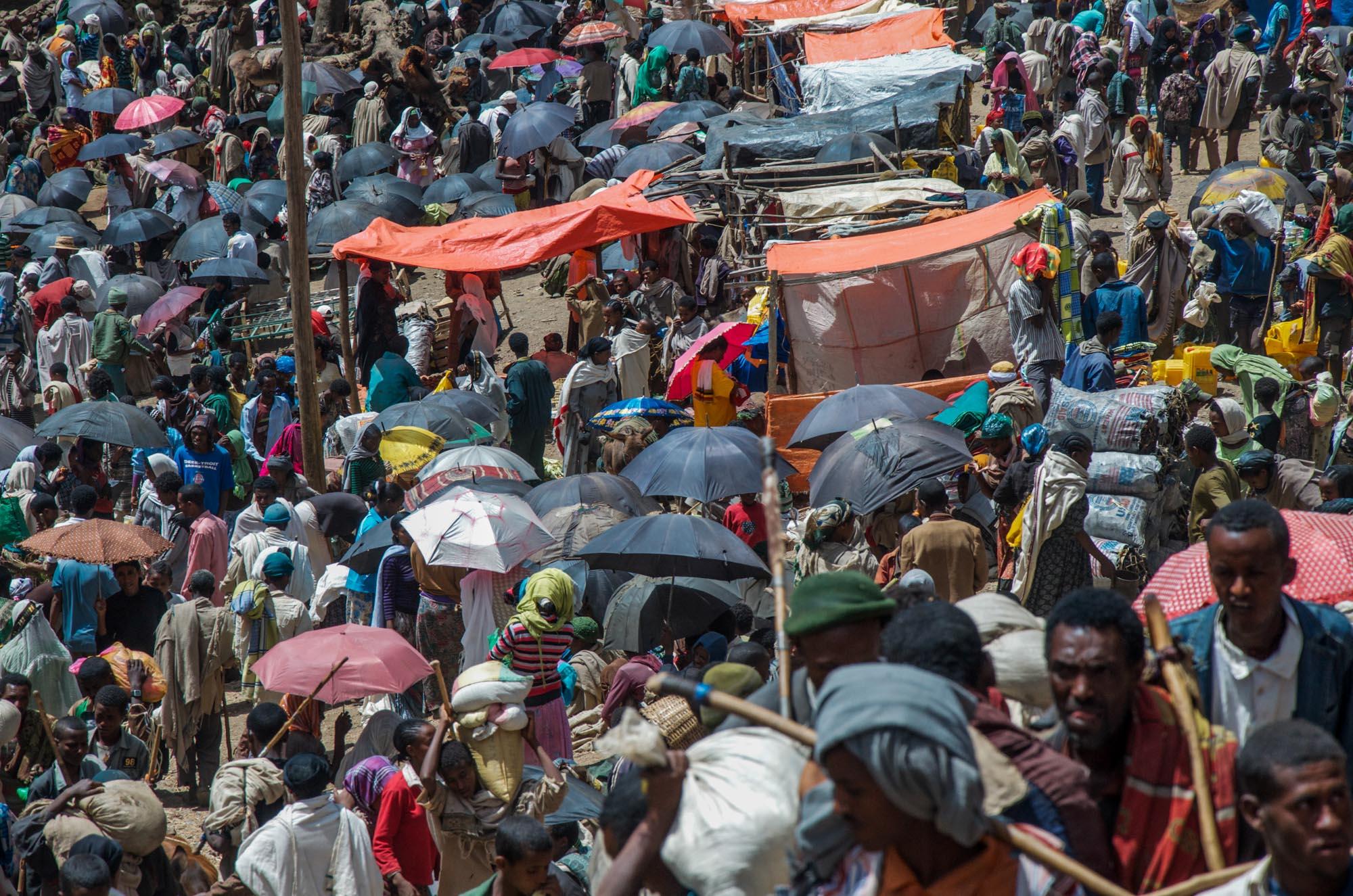 Market Day Lalibela