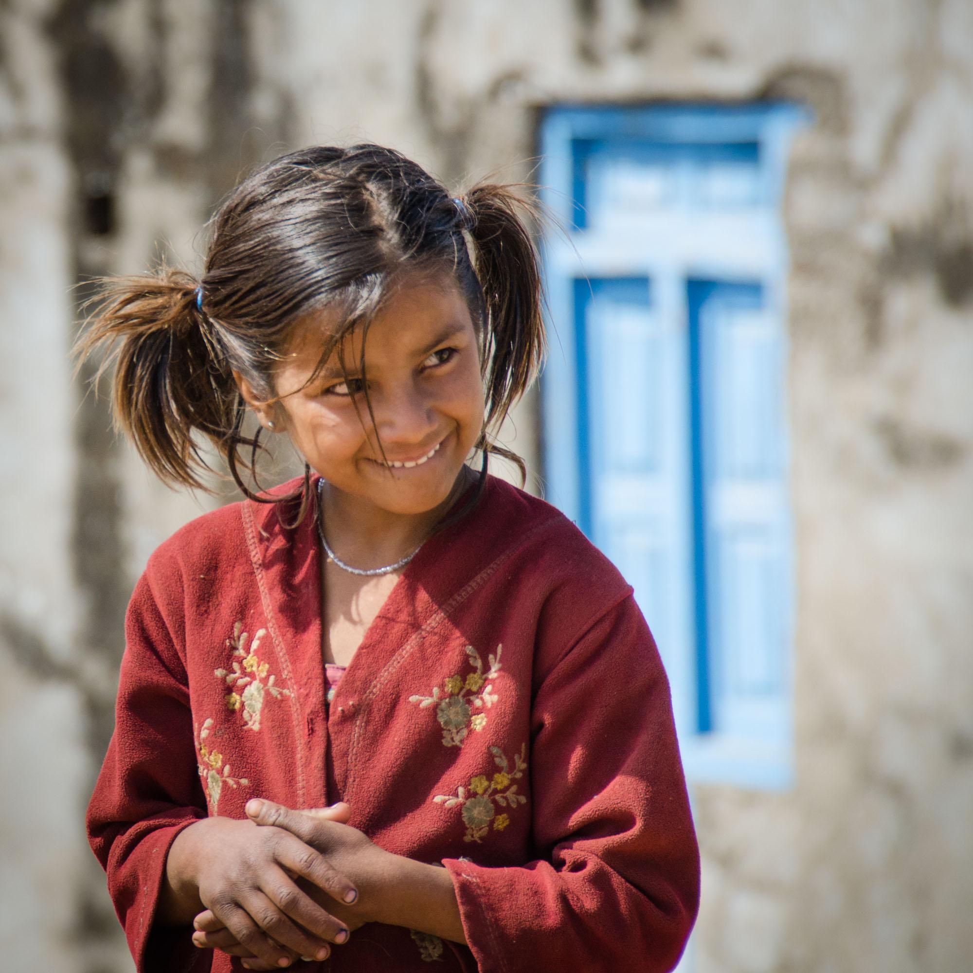 Rajasthani School Girl