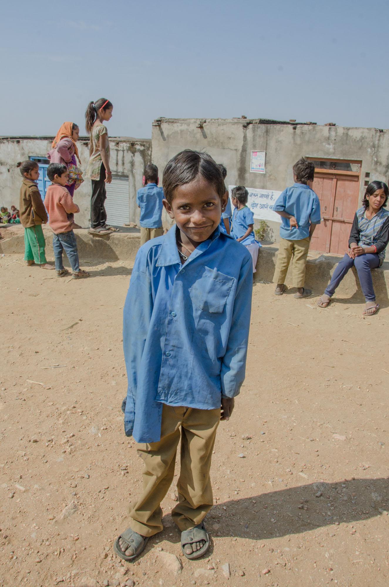 Rajasthani School Boy