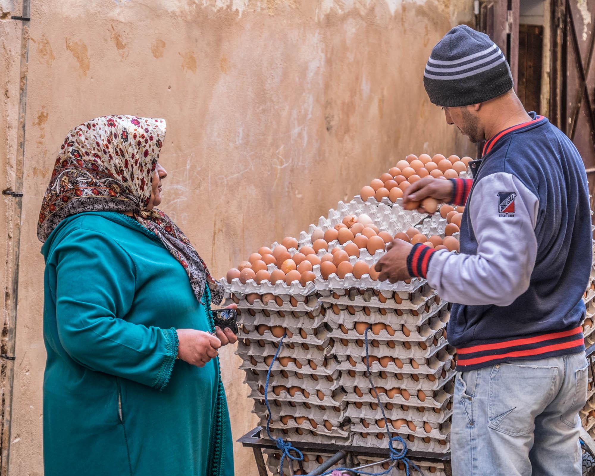 Eggs for Sale - Fes