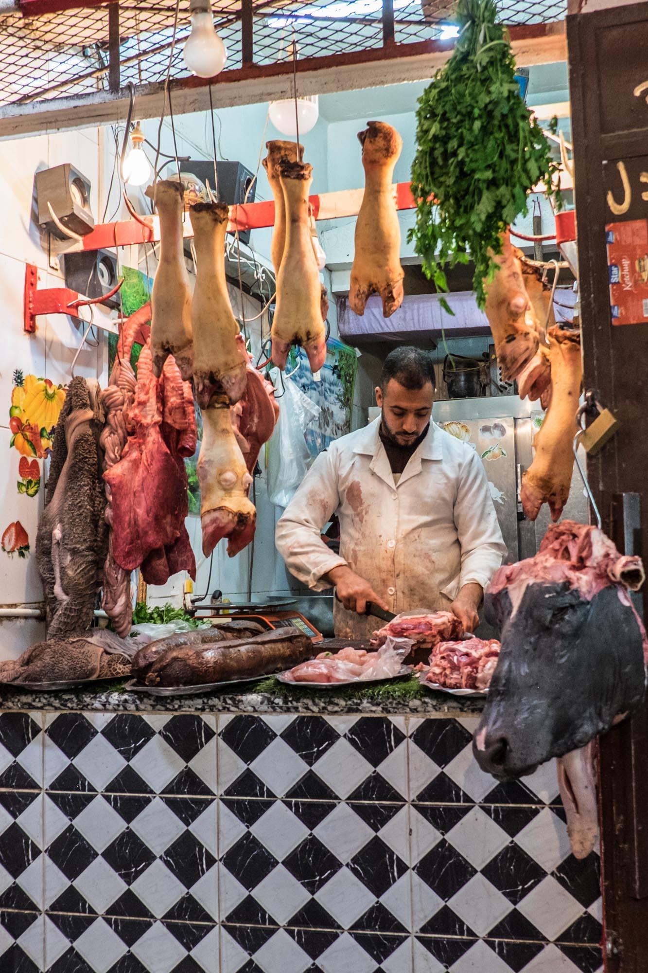 Butcher Shop - Fes