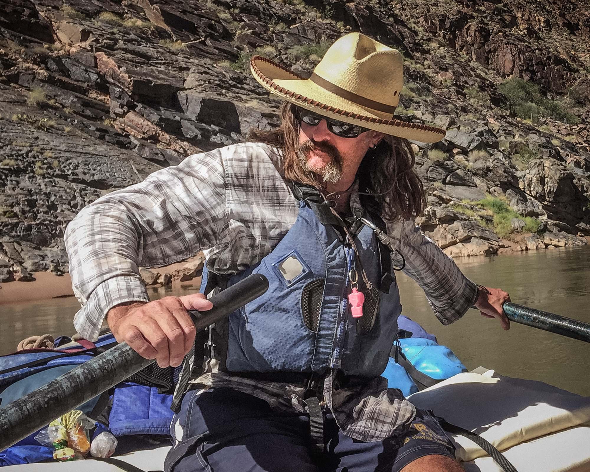 Chad - Boatman on the Colorado