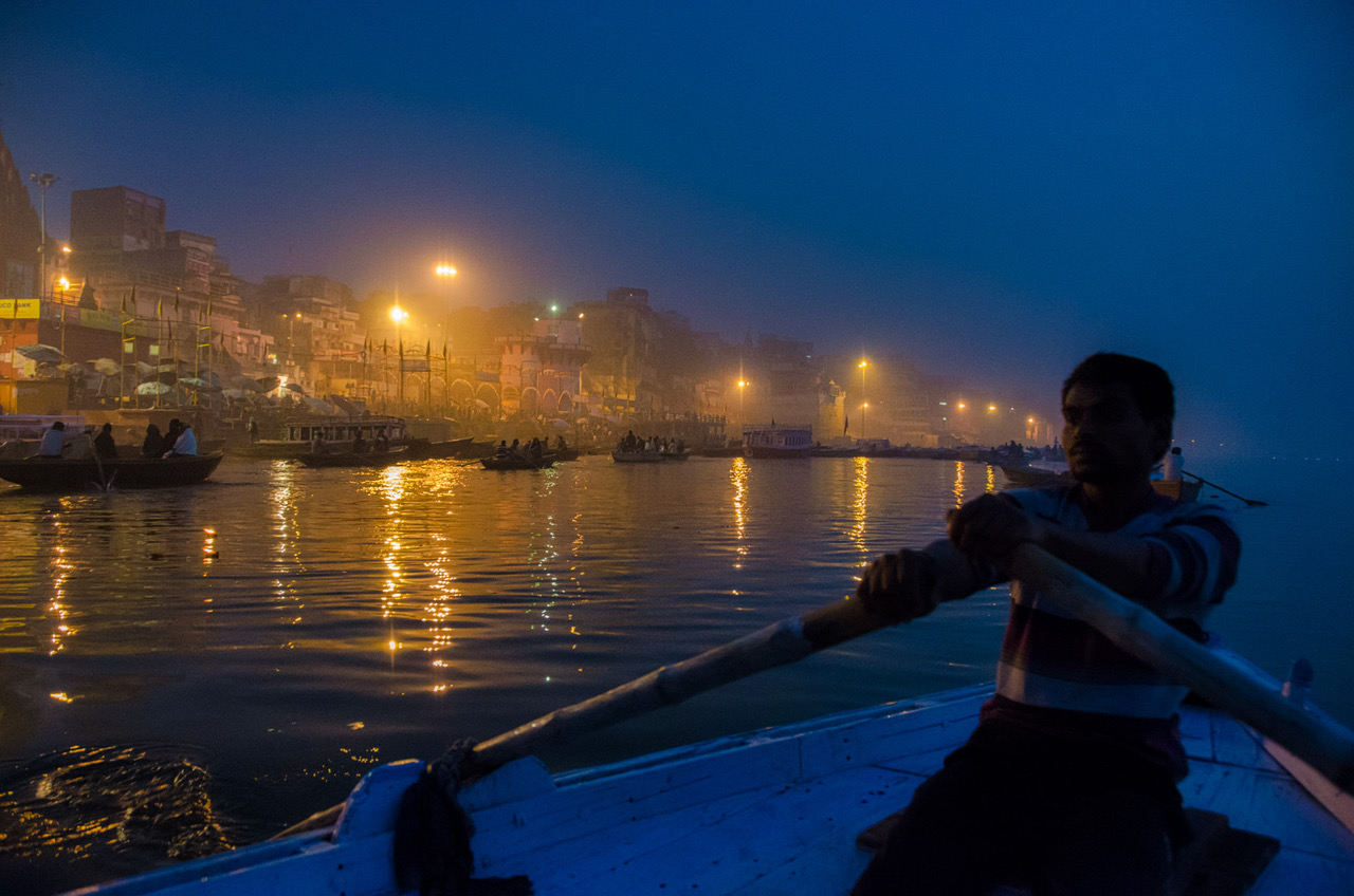 Blue Hour on the Ganges