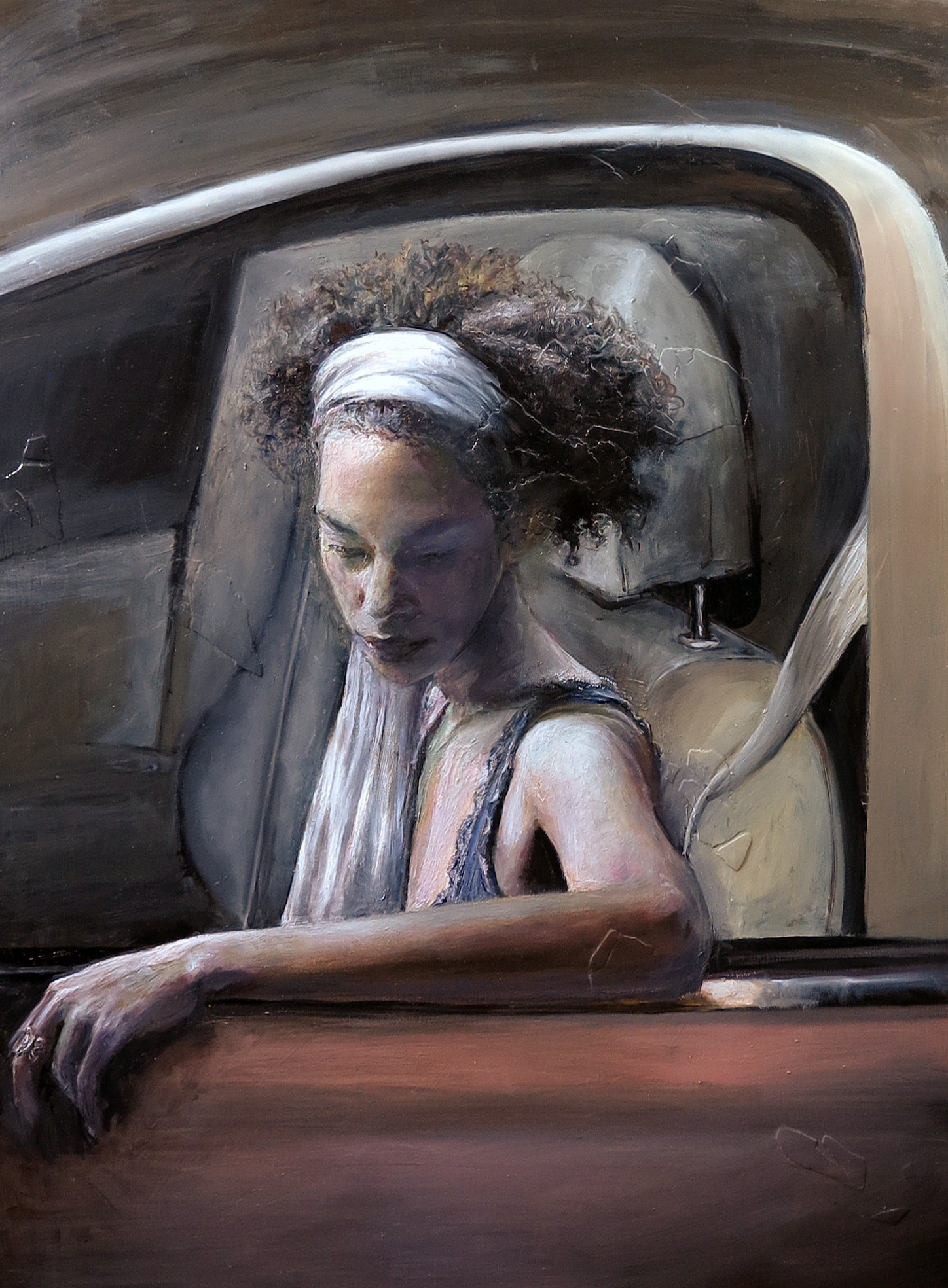 Pulled Over (Permanent Collection-DC Commission on the Arts and Humanities)
