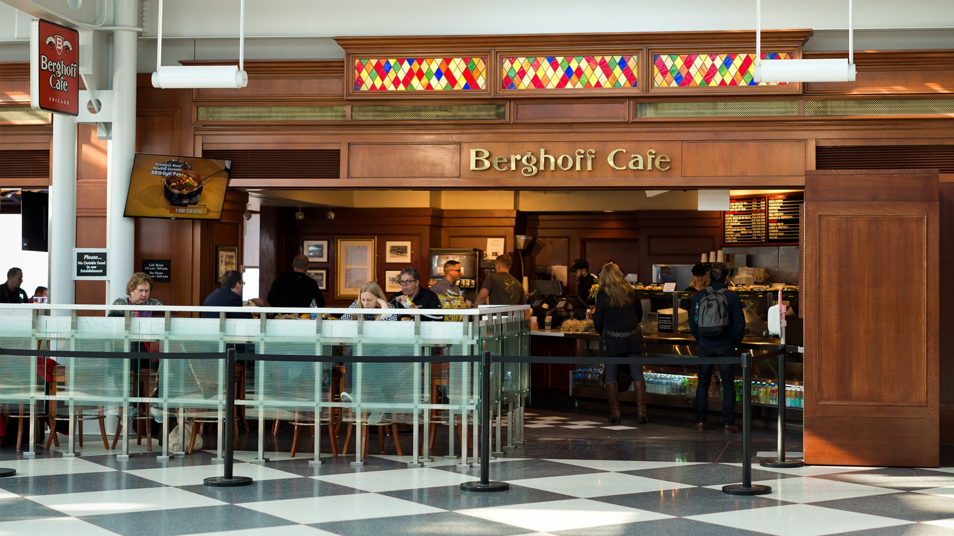 The Berghoff Cafe German Restaurant O Hare Chicago Airport