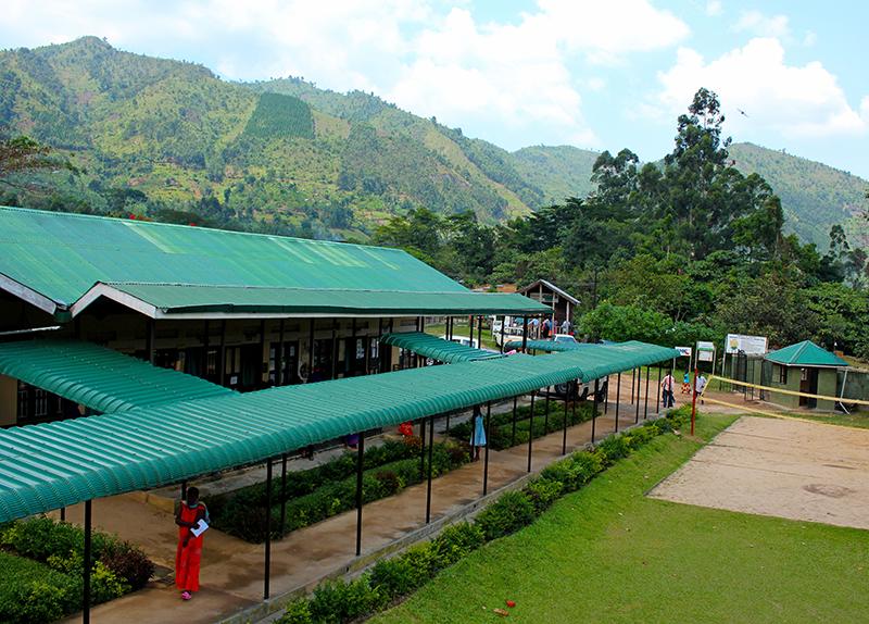 Center of the Bwindi Community Hospital