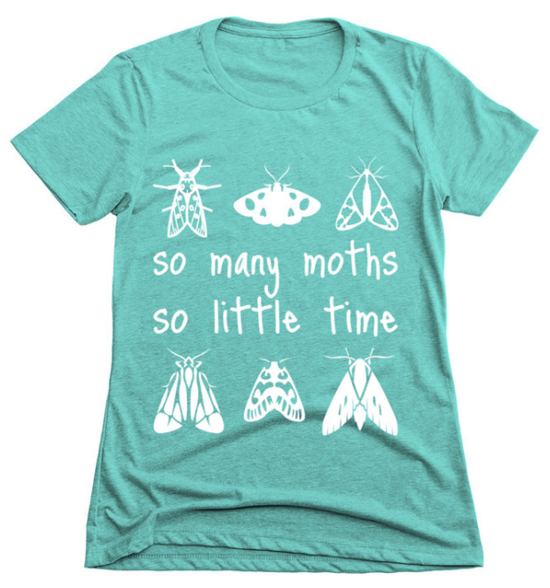 So many moths, so little time