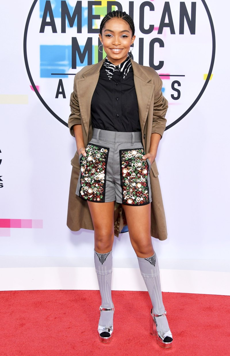 YARA SHAHIDI - Wearing Prada along with Mateo Accessories