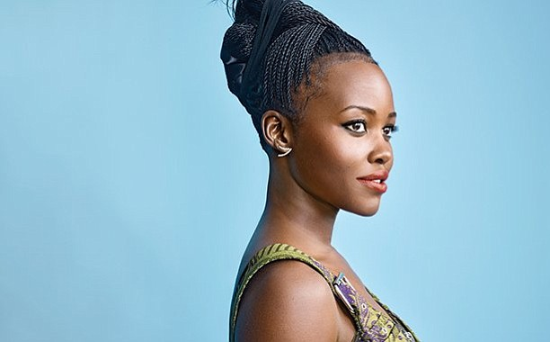 Lupita NYong'o - Mini Twists Updo'