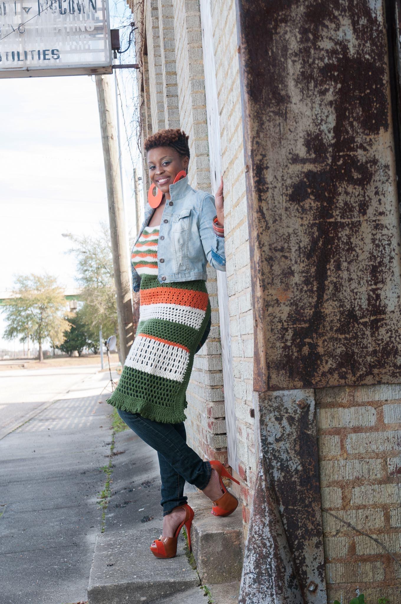 Crocheted Tank -