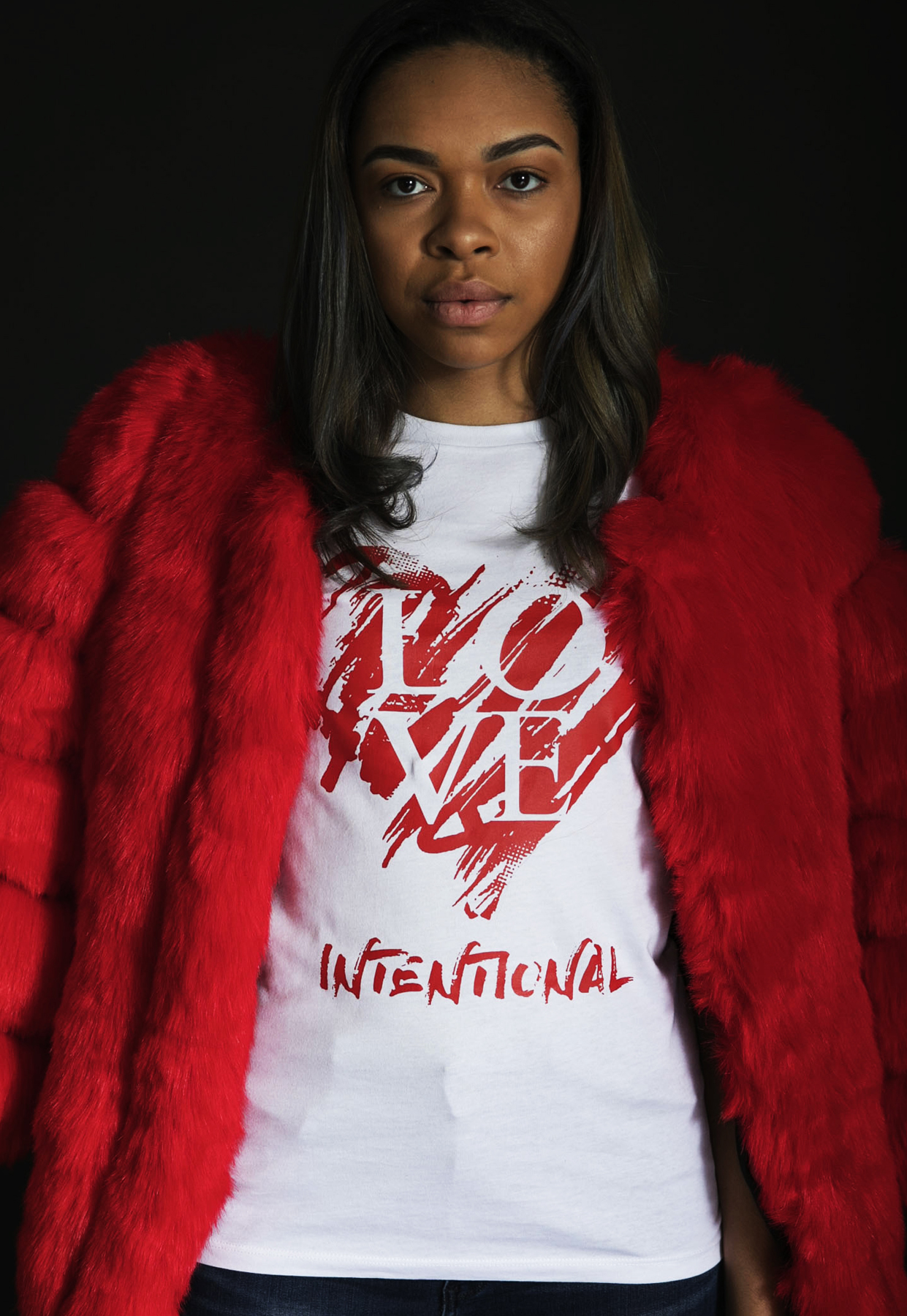 Love International Tee - $27 (Fur not included)