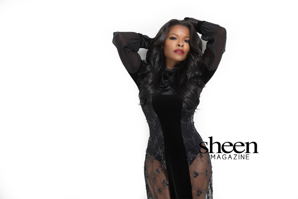 """Brief excerpt from cover story written by Eboyne Jackson:    What a better testament to the power of  love  than with  Lethal Weapon  starlet, actress and director, Keesha Sharp! This gorgeous glamazon gushes about her booming career, love life, and the joy of effortless extensions of love.     """"If I'm walking around in love, whether it's just a smile, or saying hi to someone, or giving my time, that is going to create more of that love energy that you want to pass along.""""—Keesha Sharp     SHEEN MAGAZINE's   May/June exclusive 2018   The Global Love Affair   Issue hits stands on Tuesday, April 24th"""