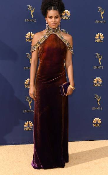 2018 EMMY AWARDS RED CARPET ZAZIE BEETZ.jpg