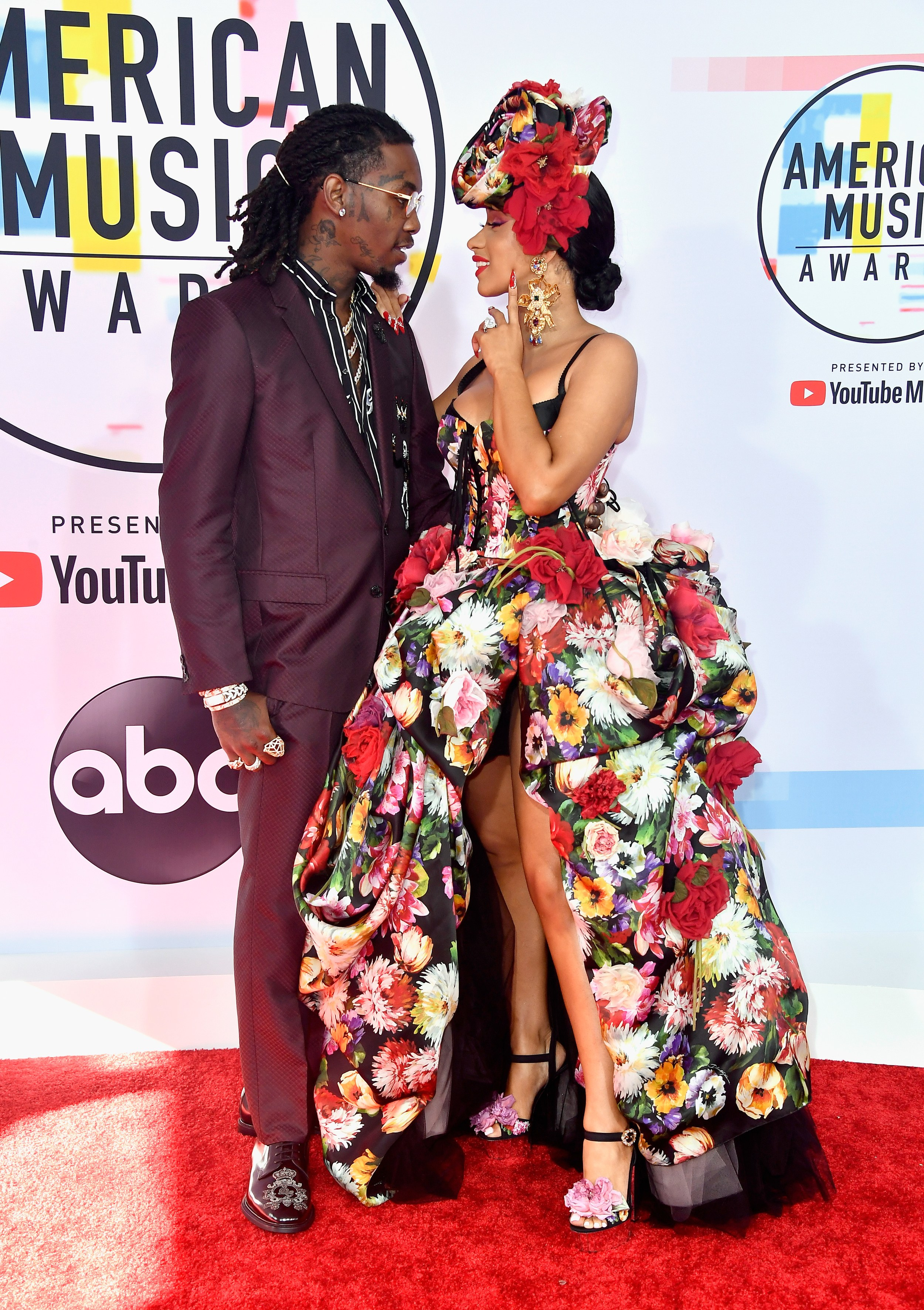 AMERICAN MUSIC AWARDS 2018 RED CARPET OFFSET AND CARDI B.jpg