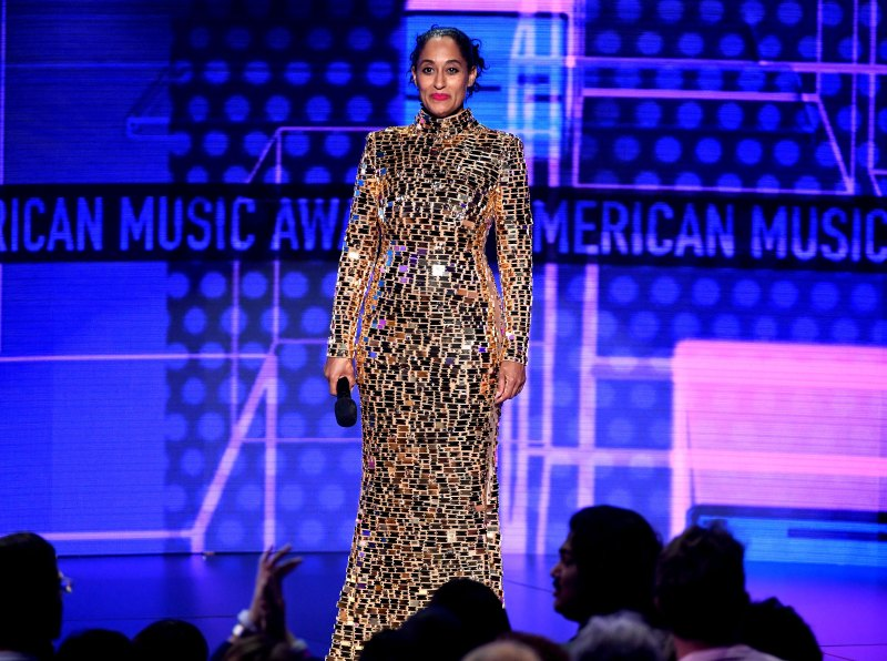 """""""Golden Girl"""" Gold Mirror & Crystal Gown by CD Greene"""