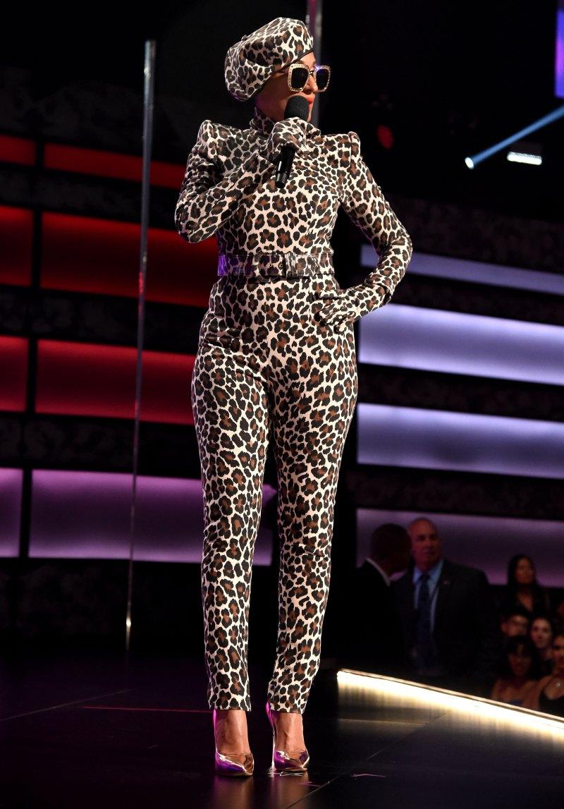 """- """"Bodysuit"""" by Sergio Hudson & Gucci Shades by Dapper Dan"""