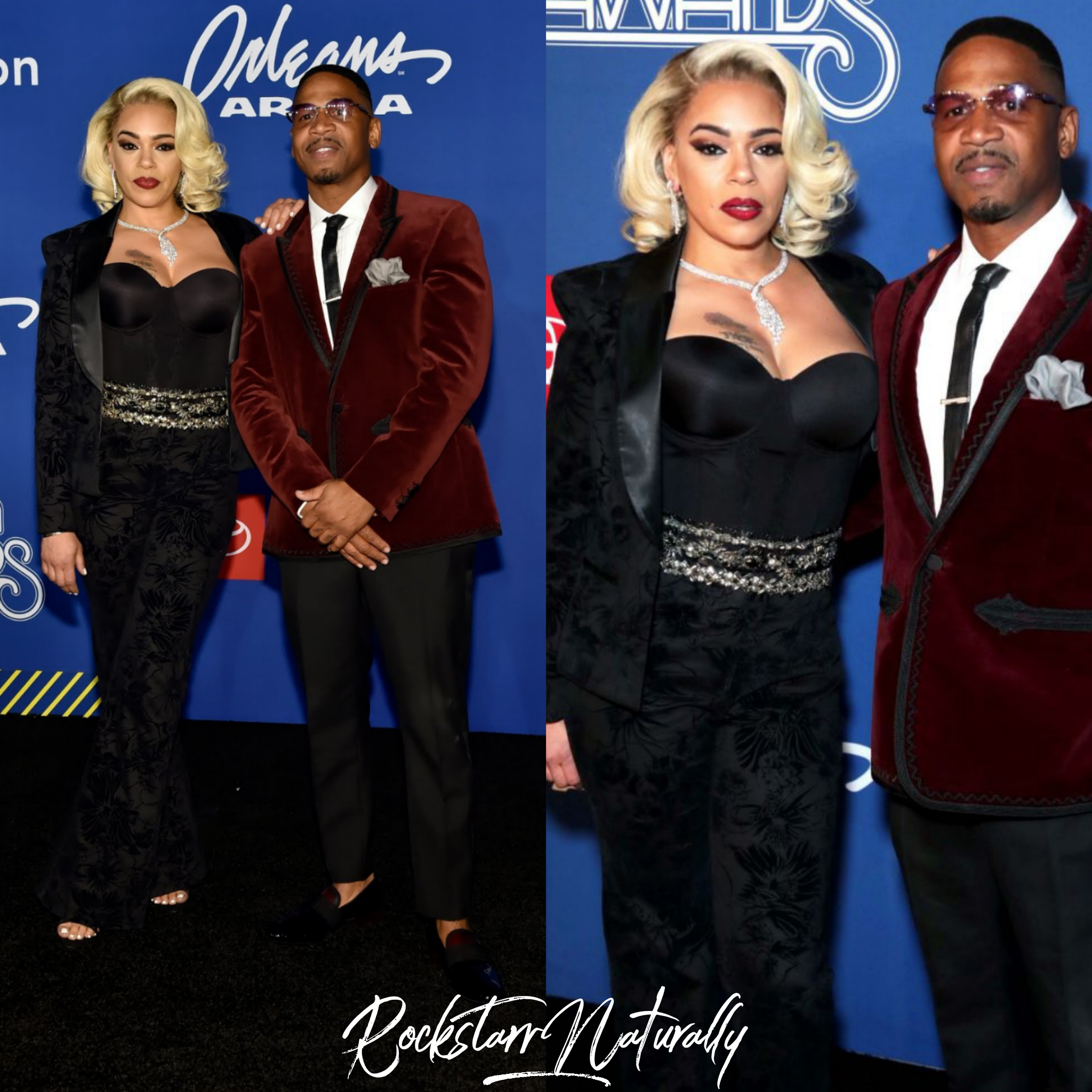 - Faith Evans & Stevie J. 2018 Lady of Soul Honoree