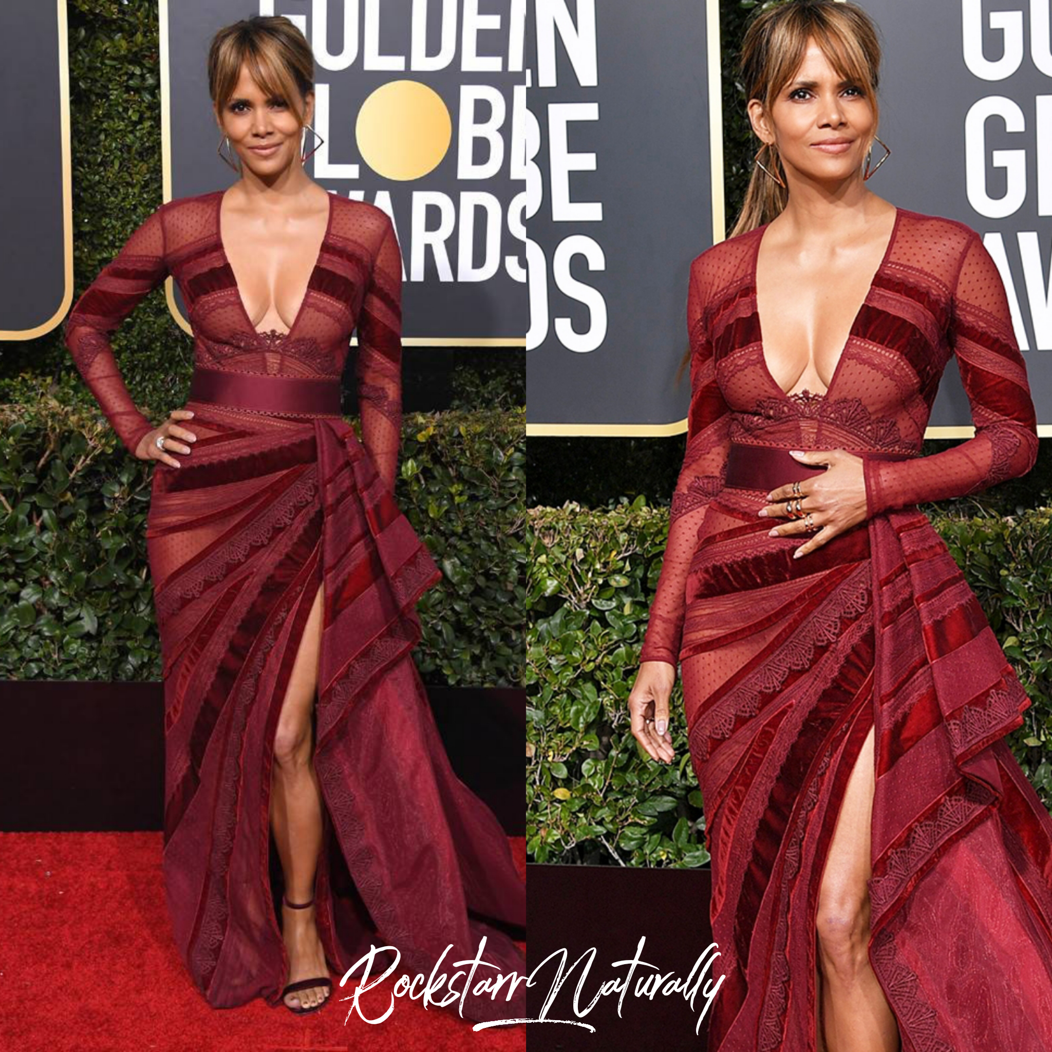 - Halle Berry in Zuhair Murad Couture