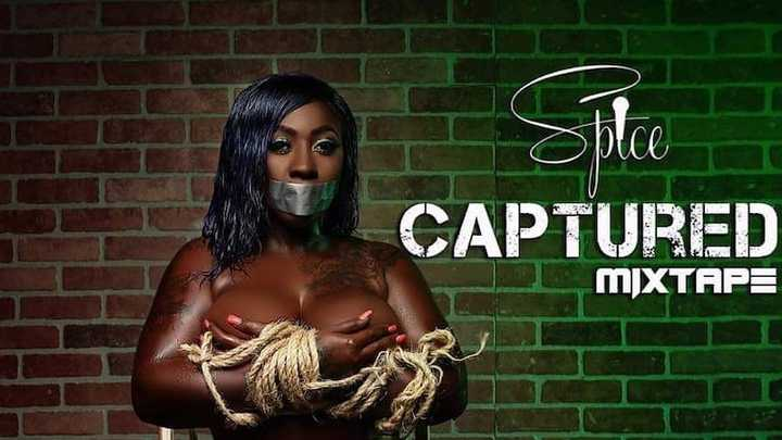 """Be sure to check out Spice latest Mixtape """"CAPTURED"""" available on all streaming sites!!!!"""