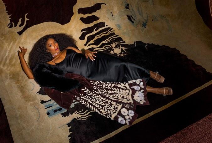 - Fendi coat; Nili Lotan dress; Bulgari necklace; Lagos ring; Miu Miu shoes. Beauty note: Embrace the spotlight. Chanel moisturizing Baume Essentiel in Sculpting imparts a showstopping glow via a sleek pearly stick.