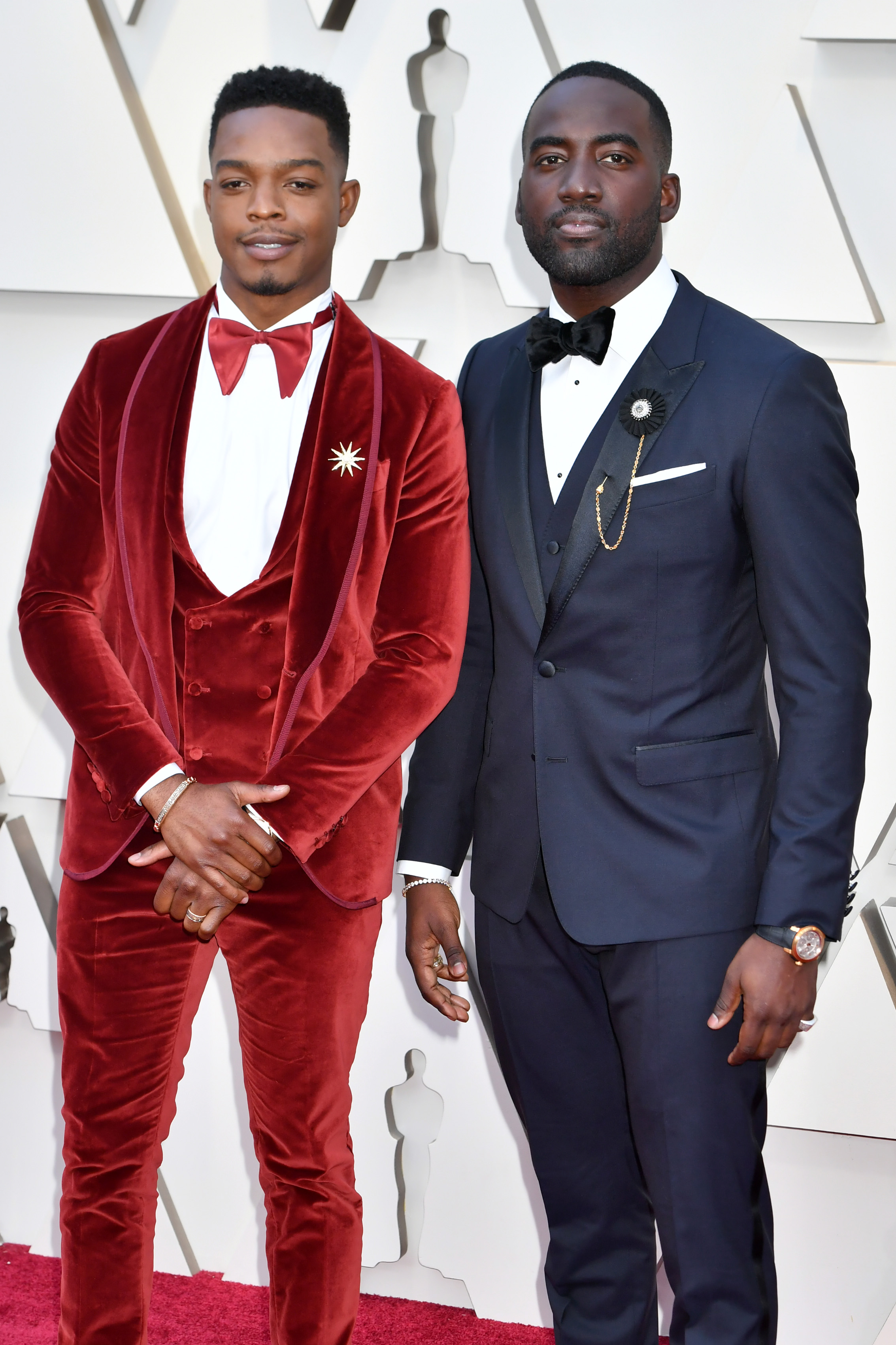 91st OSCARS RED CARPET 2019 STEPHAN JAMES AND SHAMIER ANDERSON.jpg