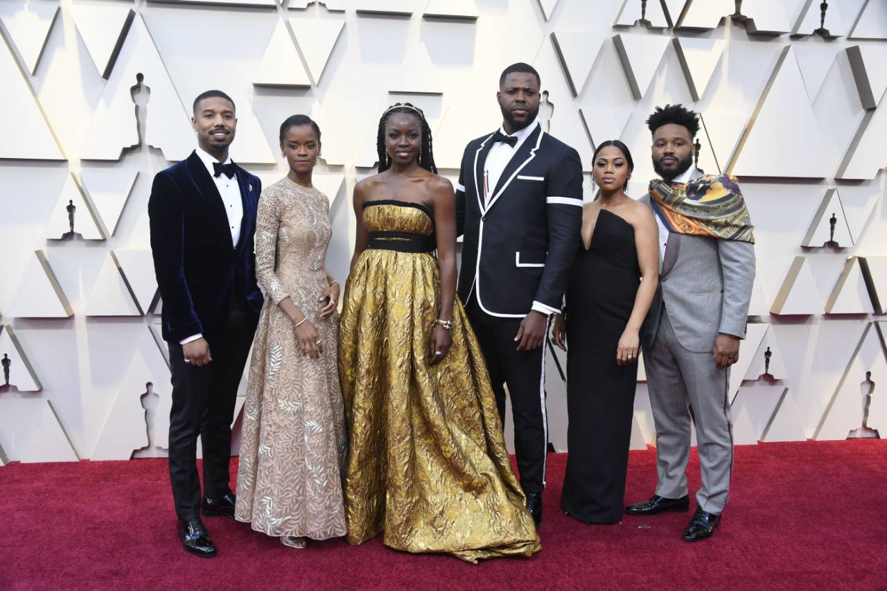 91st OSCARS RED CARPET 2019 BLACK PANTHER CAST.jpeg