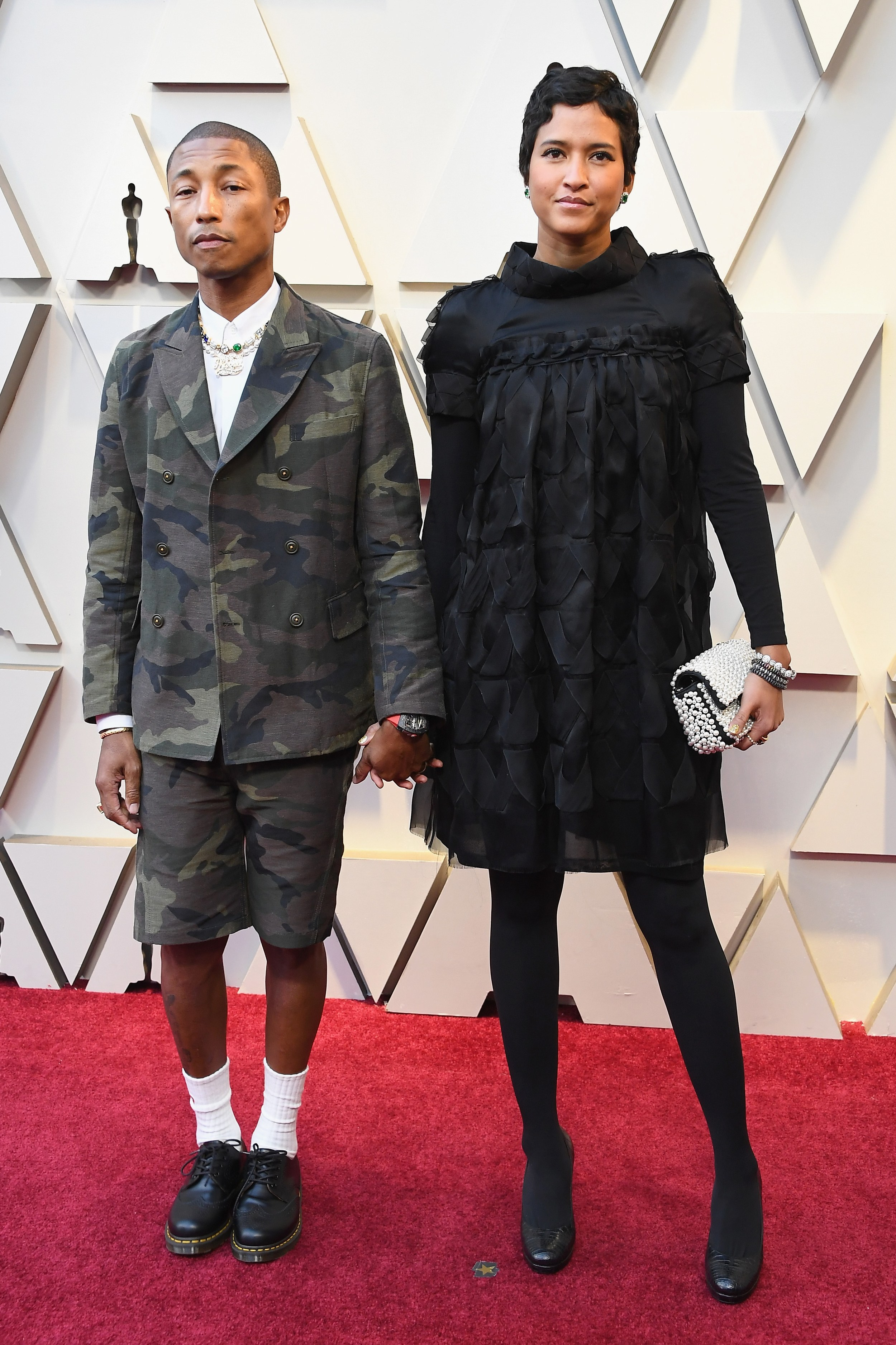 91st OSCARS RED CARPET 2019 PHARRELL WILLIAMS AND WIFE.jpg