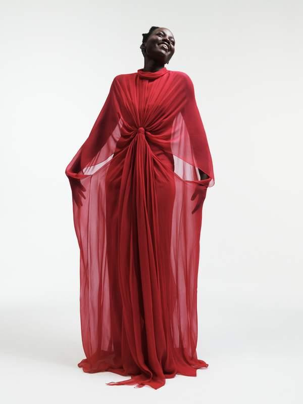 - Dress Reem Acra
