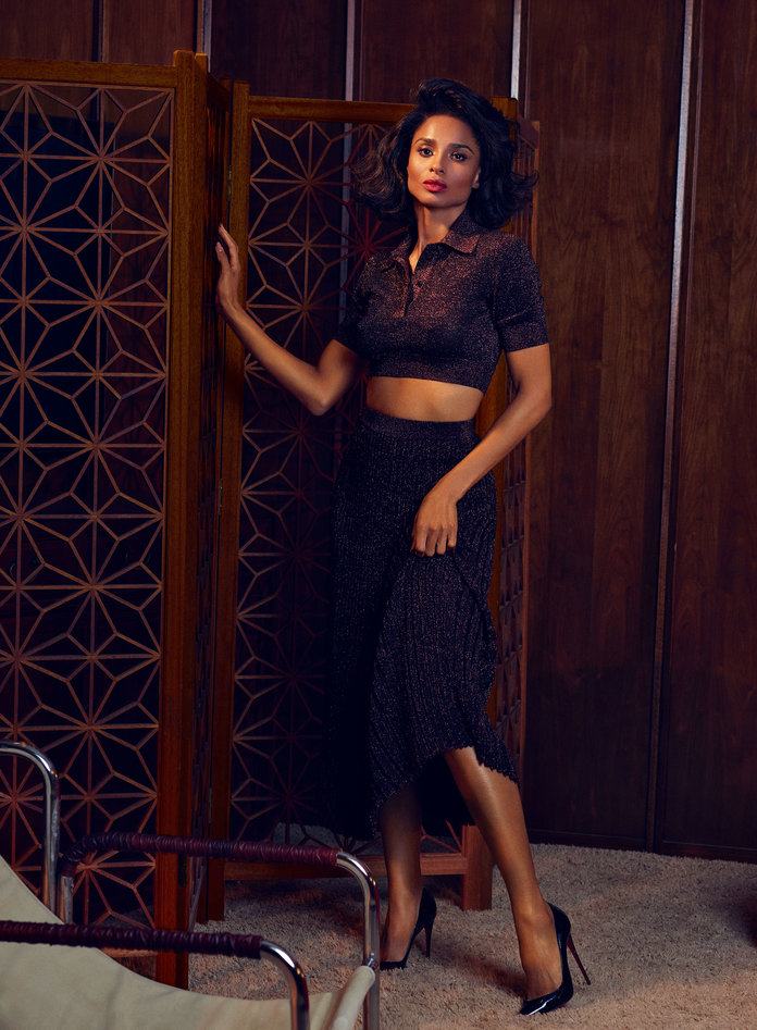 INSTYLE MAGAZINE APRIL 2019 ISSUE CIARA Michael Kors Collection polo and skirt.jpg