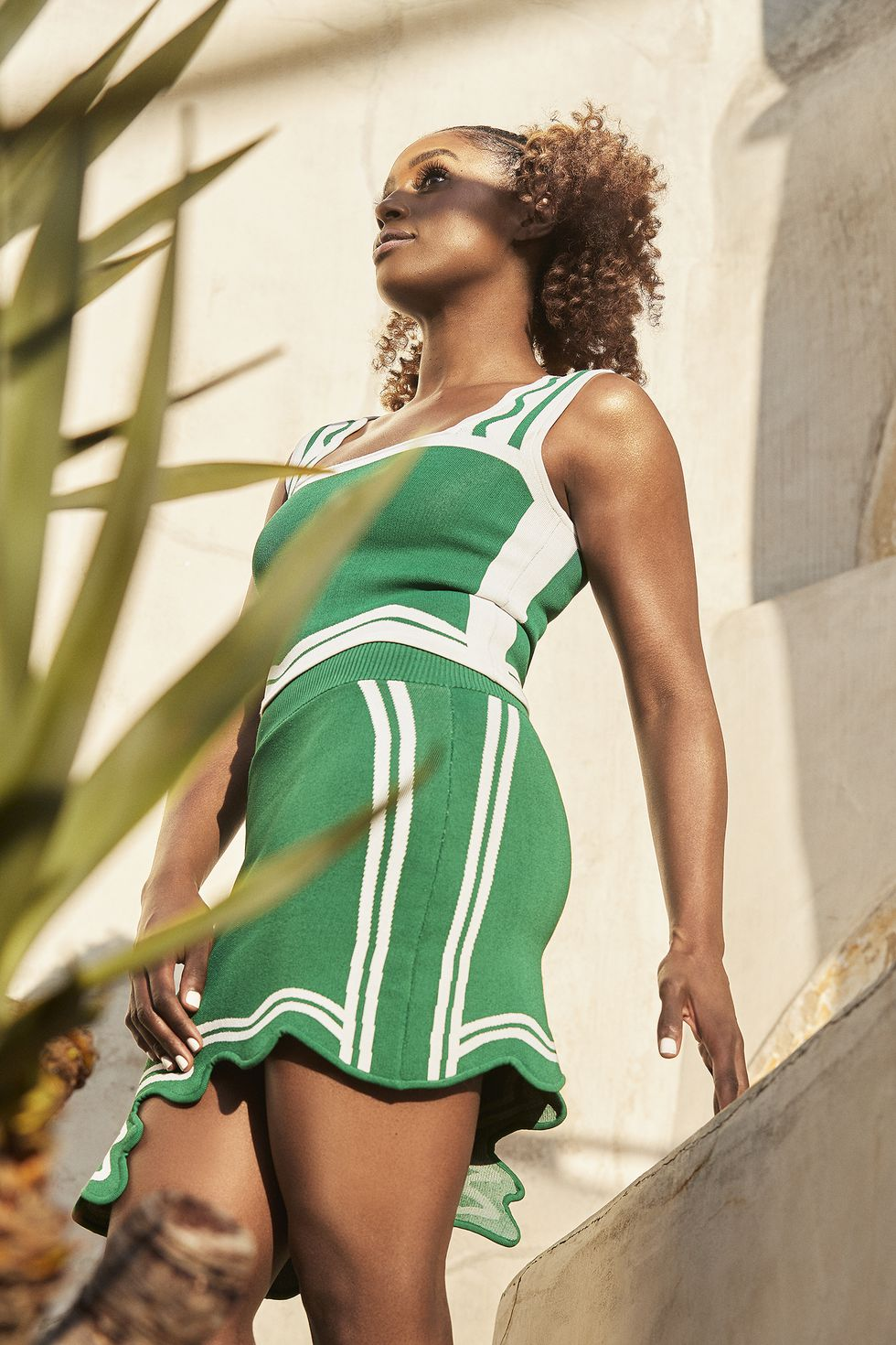 WOMEN'S HEALTH MAGAZINE THE NATURAL ISSUE 2019 ISSA RAE GREEN AND WHITE.jpg