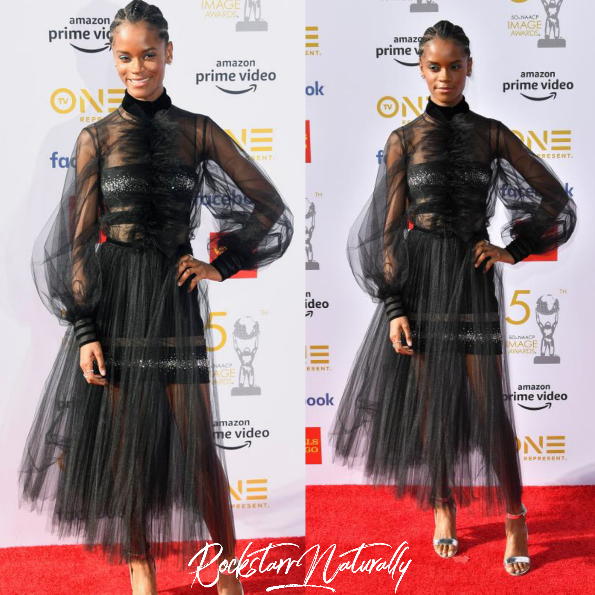 50TH NAACP IMAGE AWARDS RED CARPET 2019 LETITIA WRIGHT COLLAGE.png