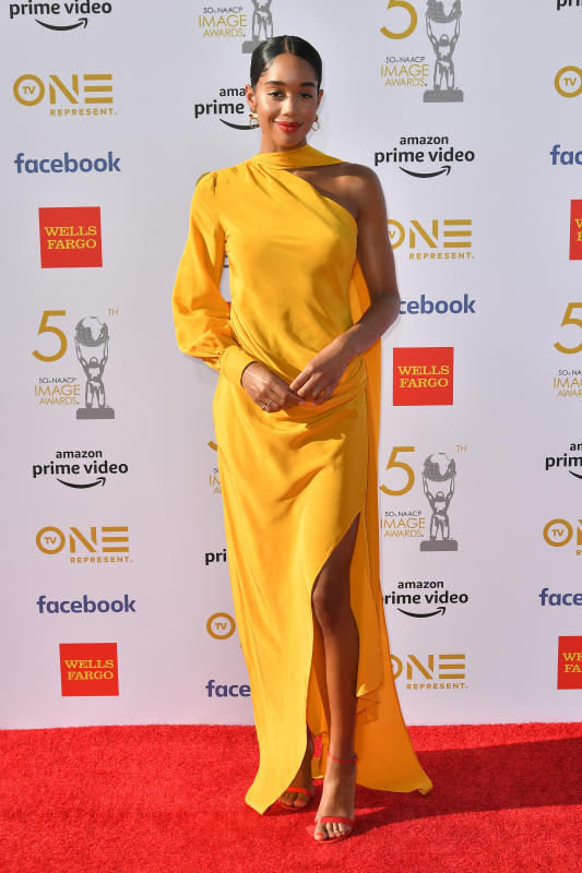 50TH NAACP IMAGE AWARDS RED CARPET 2019 LAURA HARRIER.png