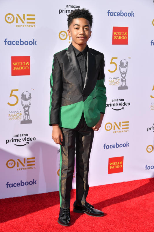 50TH NAACP IMAGE AWARDS RED CARPET 2019 MILES BROWN.jpg