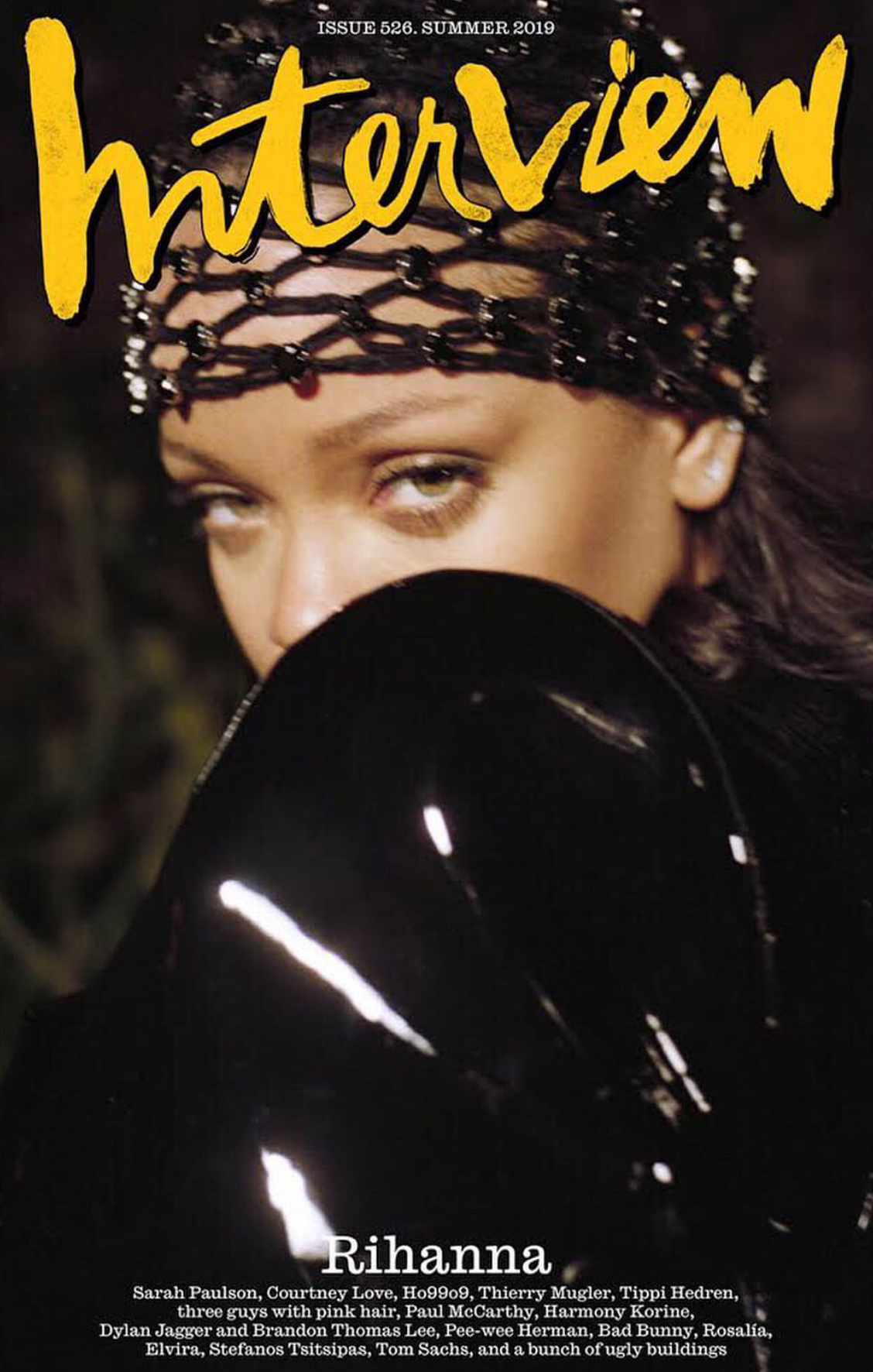 INTERVIEW MAGAZINE SUMMER 2019 RIHANNA COVER 2.png