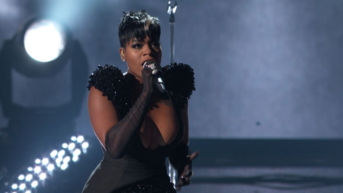 "- Fantasia performed ""Enough"" from her new album called SKETCHBOOK. Her performance was electrifying as always you can expect greatness from this woman. She has been wowing us ever since American Idol. Throughout the highs and lows of her career Fantasia seems to come out on top."