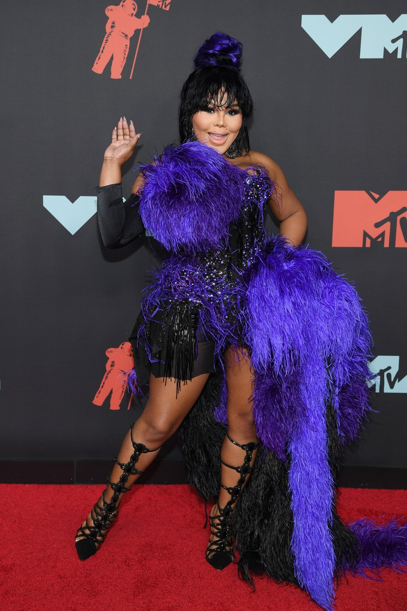 - Lil Kim in The Blonds