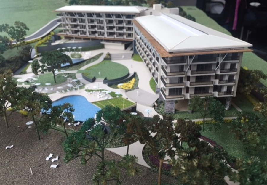 Model - View from Beach