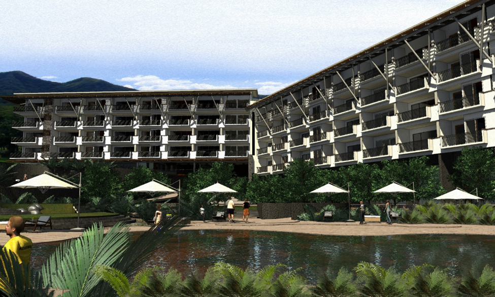 Exterior - View of Hotel from Pool