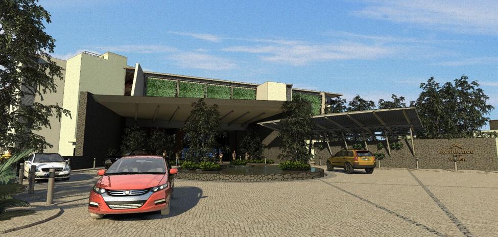 Exterior - Hotel Entrance