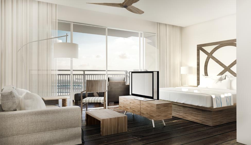Interior - Guest Room