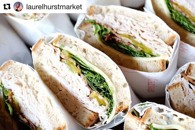 #Repost @laurelhurstmarket ・・・ Happy Memorial Day! Get your sandwich orders in for your team or cater with us and @sporkbytes!