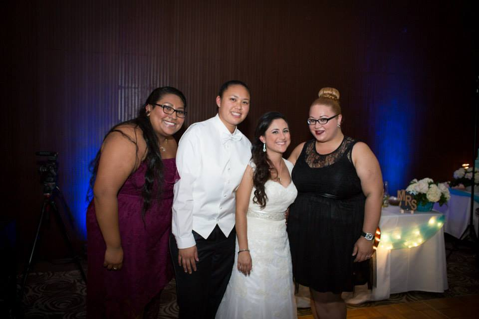 Mayra + Angelica Sabatin with Angela and Silvia from Rock n' Willow Events