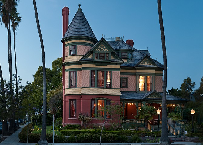 Photo taken from www.sdbj.com of the  Britt Scripps Manor